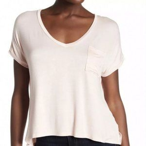 Project Social T Cropped T Shirt Blush Small NWT